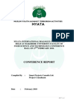 MYATA International Dialogue - Conference Report