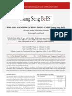 Hang Seng BeES KIM -print