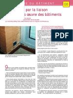-08- Infiltrations Par La Liaison Fenetre-gros Oeuvre Des Batiments