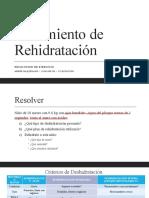 Ejercicio de Rehidratación - Abner Baquedano - GN - VI Rotación