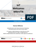 mikrotik IoT