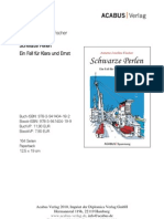 """Press Release """"Schwarze Perlen"""" von Annette-Josefine Fischer"""