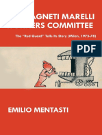 """The Magneti Marelli Workers Committee – The """"Red Guard"""" Tells Its Story (Milan, 1975-78)"""