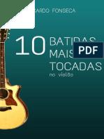 10 Batidas mais tocadas no violão
