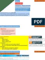 MYP5 Deductive geometry (Sheet 1)