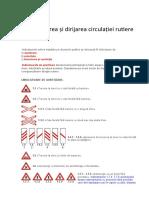 Organizarea și dirijarea circulației rutiere.docx