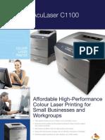 aculaserc1100 Printer Brochure