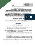 RESOLUCIÓN No. 5567 DEL 29 DE OCTUBRE DE 2020 – CONFORMACIÓN DEL BANCO NACIONAL DE OFERENTES IP-001-2020-ICBFSEN