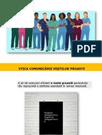Suport de curs - Etica comunicarii vestilor proaste