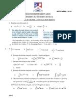 EGM 211  tutorial sheet 4