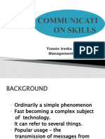 COMUNICATION SKILLS