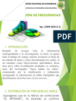 DISTRIBUCION DE FRECUENCIAS 1