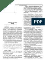 DL 1358 Modifica Ley General del Sistema de Bienes Estatales para Optimizar Saneamiento Fisico Legal de Inmuebles Estatales y Facilitar inversion (21Jul18)