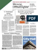 Le Monde Diplomatique 2020 10