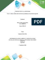 Tarea 2- realizar estudios sobre los factores que influyen en la producción agrícola..docx