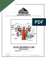 TrioTC36H- Parts Manual (Ref)