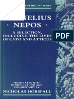 Cornelius Nepos a Selection, Including the Lives of Cato and Atticus by Cornelius Nepos, Nicholas Horsfall (Z-lib.org)