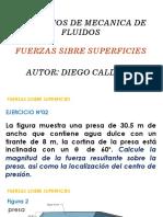 4. Fuerzas Sobre superficies