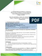 Guía de actividades y rúbrica de evaluación – Unidad 1- Paso 2- Proyecto Fase 1 razas porcinas y diseño de instalaciones