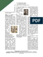 Gazette du labo curie et becquerel