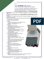 FILTRON 1-10 brochure SPN