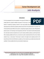 2_Job Analysis Template