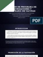 INMUNIZACIONES Y MUESTRARIO DE VACUNAS Pedro Adrian Martinez
