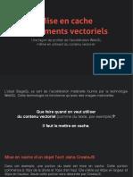 Mise en cache d'éléments vectoriels