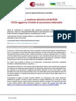 Risk evaluation report diossine EFSA 2018