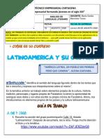 903 - 19 de Agosto - Español . Analisis de Lenguaje Literario - Docente Cecilia Barrantes.