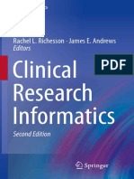 (Health Informatics) Rachel L. Richesson, James E. Andrews - Clinical Research Informatics-Springer International Publishing (2019).pdf
