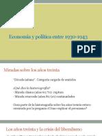 Los años treinta argentinos