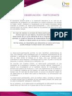 Anexo 1 Ficha de observación participante