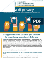 APProva Di Privacy - I suggerimenti del Garante Privacy