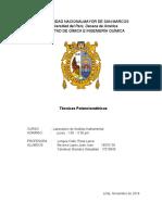 Informe 8  Potenciometria Analisis instrumental