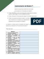 Estrategia 2 Implementación del modelo F