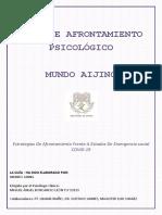 GUÍA DE AFRONTAMIENTO PSICOLÓGICO