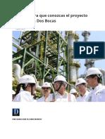 10 datos para que conozcas el proyecto de Refinería Dos Bocas