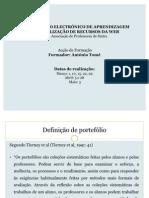 Perspectivas teóricas da utilização do portefólio