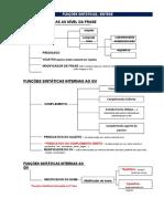 Funções sintáticas-esquema
