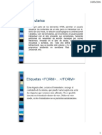 HTMLFormularios