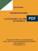 Presentación de la Unidad I - La Economía y el Problema Económico