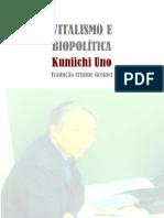 Vitalismo e Biopolítica_Kuniichi Uno