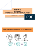 HABITOS SALUDABLES Y CULTURA FISICA