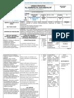 P.U.D.-Plan de Unidad EDUCACION FISICA 8