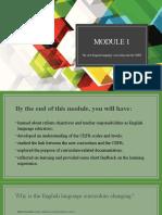 Module 1 CEFR