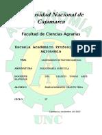 MANTENIMIENTO DE TRACTORES AGRÍCOLAS