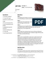 Boiled Chocolate Delight Cake Recipe _ Allrecipes