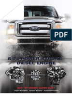 6 0l Power Stroke Tech Manual 2004 Update Throttle Turbocharger