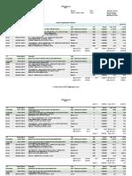 Planilha - Orçamento Analítico